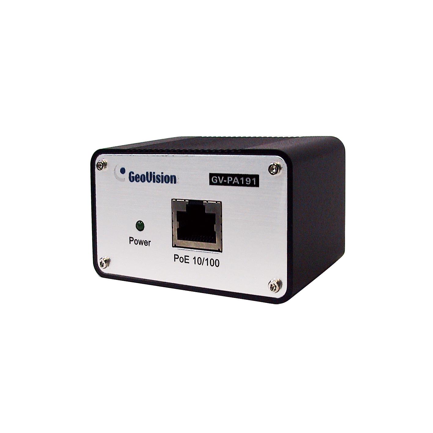 《GeoVision社製》<br>給電アダプタ<br>GV-PA191
