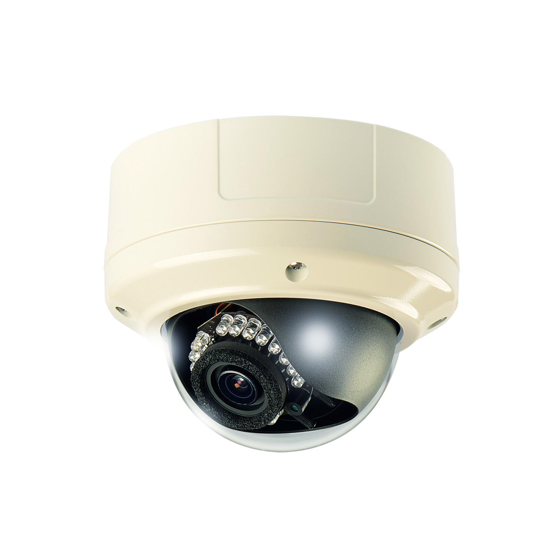 HD-AHD2.0 SDカメラ バンダルドーム型<br> SD-3842VIR